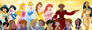 Disney Queens and the Princesses