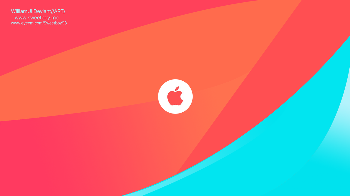 Apple ios mac logo HD by WilliamUI