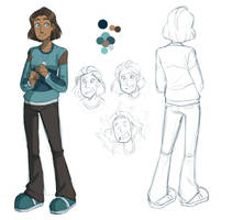 Character Design by Bast13