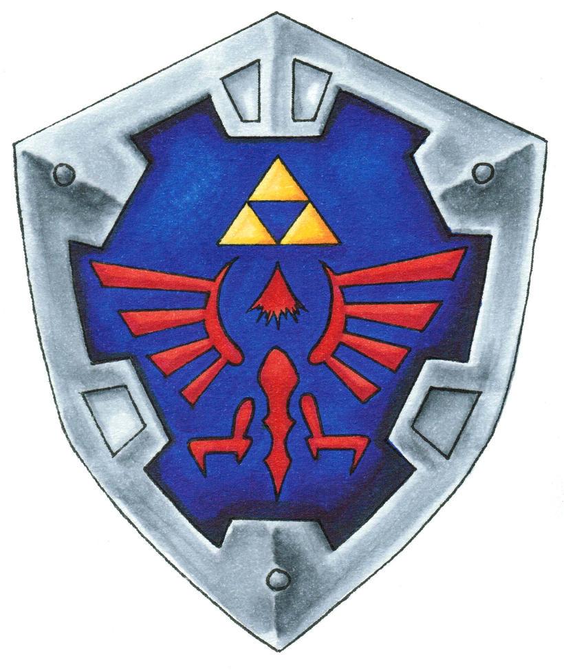 hylian shield by rulerofmars on deviantart