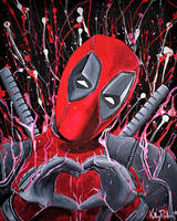 Deadpool Unleashed by reklesskelly