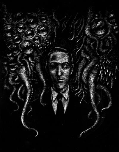 H. P. Lovecraft by h-Nox