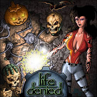 LifeDenied band album cover by pa5cal
