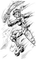 Battle Angel Alita Gunnm by pa5cal