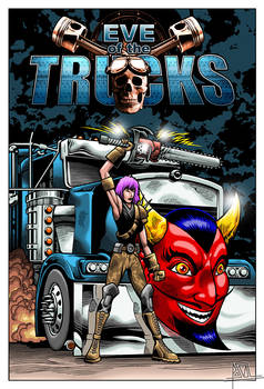 Eve of the Trucks Cover [color final]