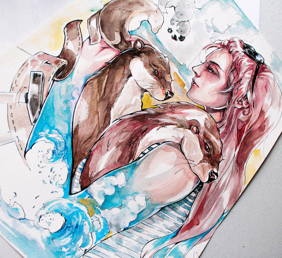 She's like the sea  by Maya--00