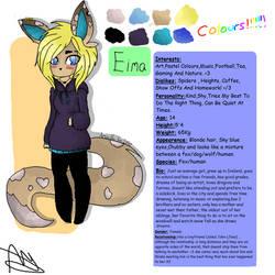 My First Oc ^^ (Eima)
