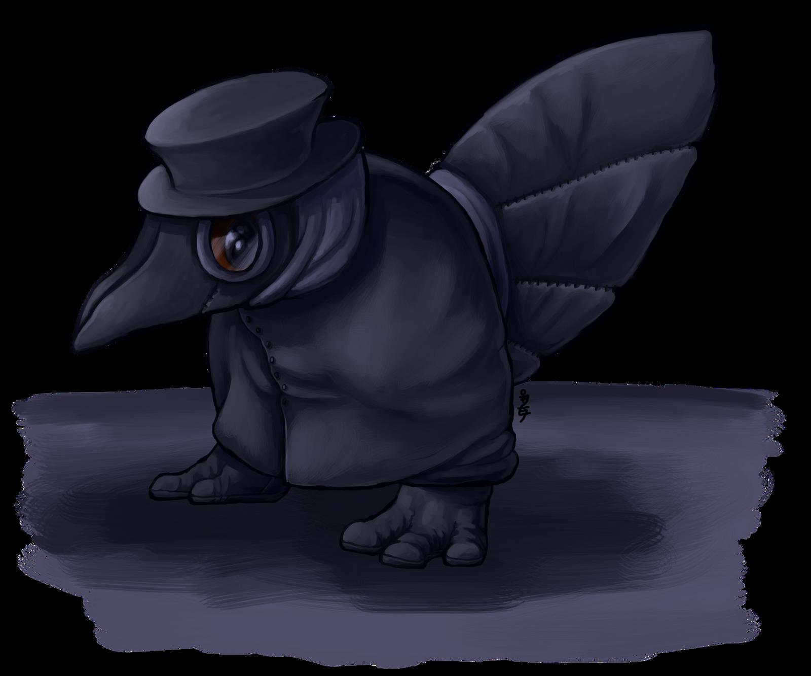 Cute Little Plague Doctor By Nickala On Deviantart