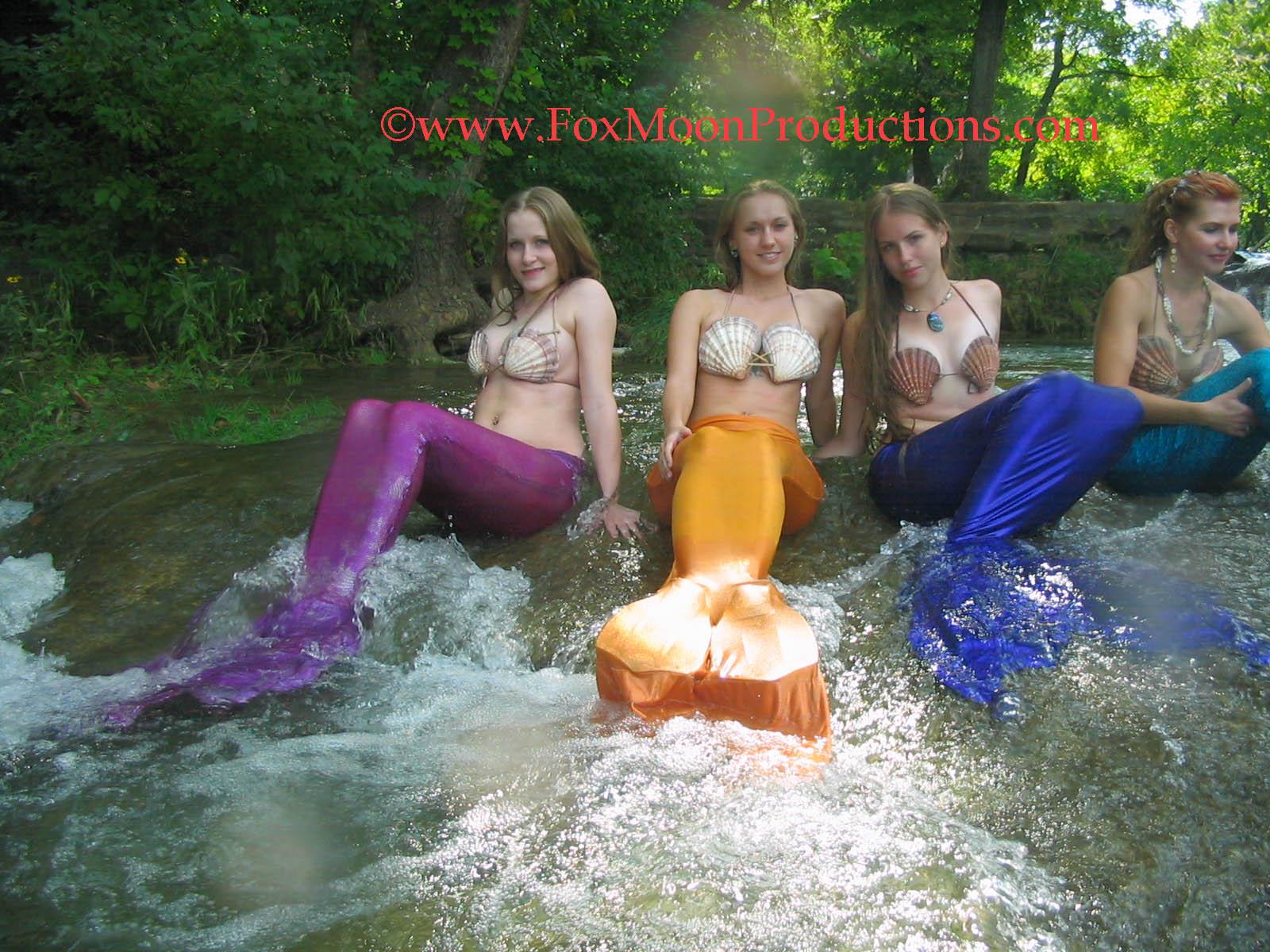 Mermaid's Gathering. by FoxmoonMerfolk