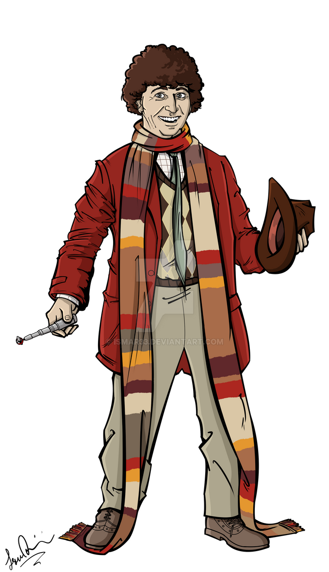 The Fourth Doctor by Ismar33