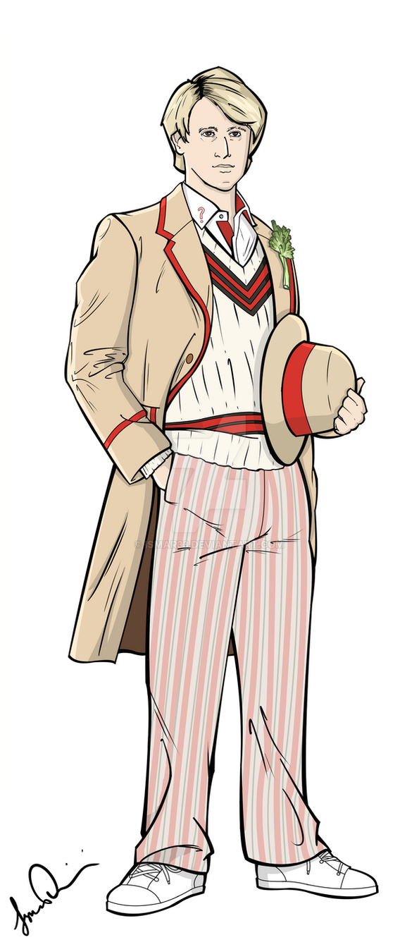 The Fifth Doctor by Ismar33