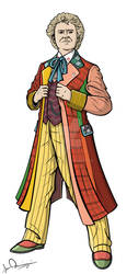 The Sixth Doctor by Ismar33