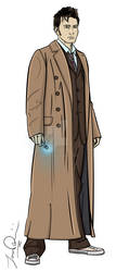 The Tenth Doctor by Ismar33