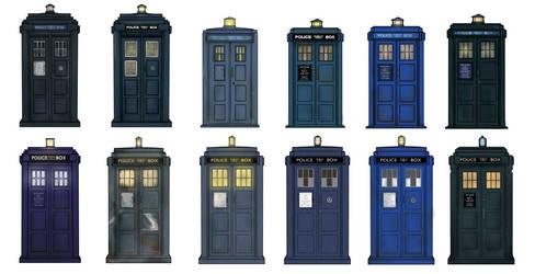 TARDIS' by Ismar33