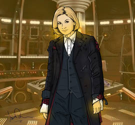 Freshly regenerated - 13th Doctor by Ismar33