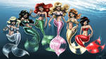 Mermaids by Loish colored