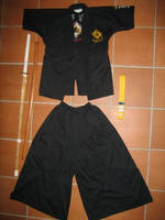 my uniform and stuff by Mai-Rofl-Copter