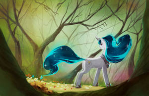 Commission: angel song by envidia14