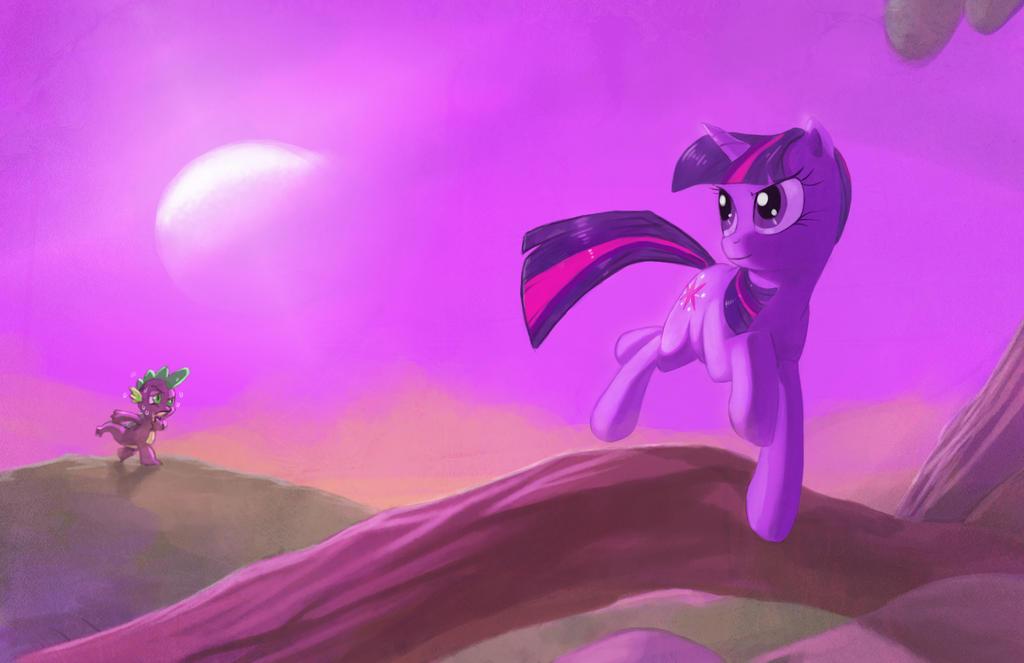 twilight on twilight by envidia14