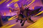 Commission: Duel by envidia14