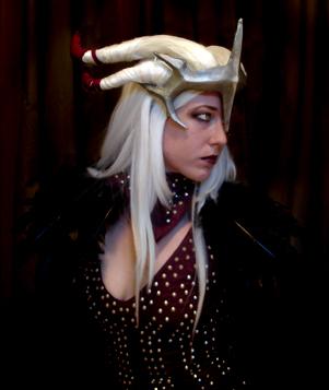 Flemeth cosplay by fenn-shysha
