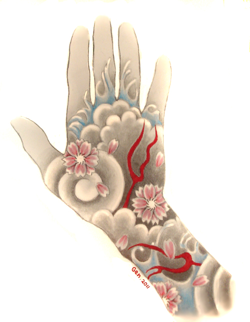 yakuza hand tattoo by fenn shysha-d4eabfq jpgYakuza Tattoo Drawing