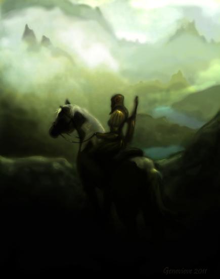 Skyrim's Horizon by fenn-shysha