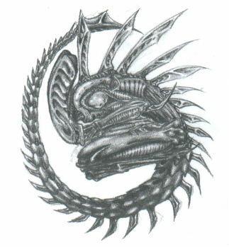 Xenomorph by fenn-shysha