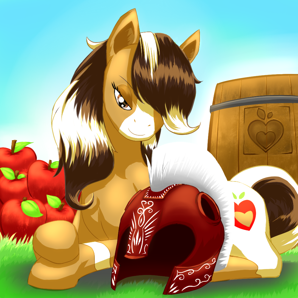 Honeycrisp by FightingPolygon