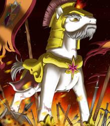 Lanceor Shieldon by FightingPolygon