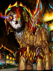 Undead Lanceor Shieldon by FightingPolygon