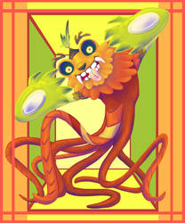 Carrot Monster by FightingPolygon