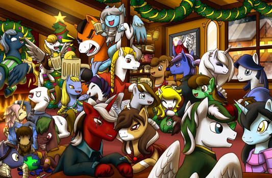 Knights of Harmony Christmas Party
