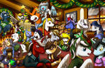 Knights of Harmony Christmas Party  by FightingPolygon