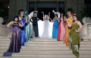 Princess on Stairs by shushuwafflez