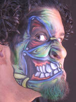 Face Painting by Yamil-Medina