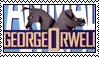 Animal Farm stamp I by flammingcorn