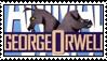 Animal Farm stamp I by flammingcorn
