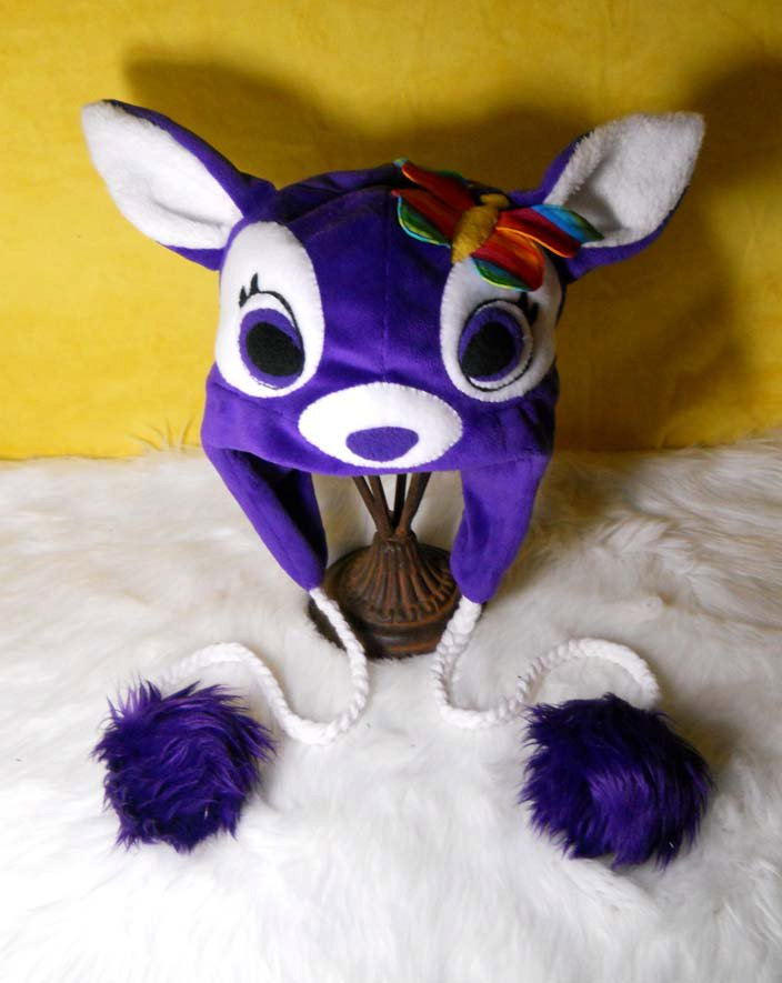 Deer Hat by ShearNonsense