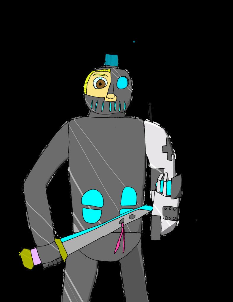 CyberKnight Carlton (OC) by MaximusPain2