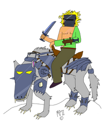 Wolf Knight by MaximusPain2