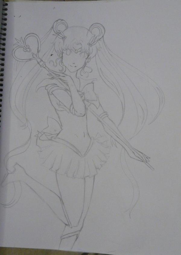 Sailor Moon by MichelleKoilover