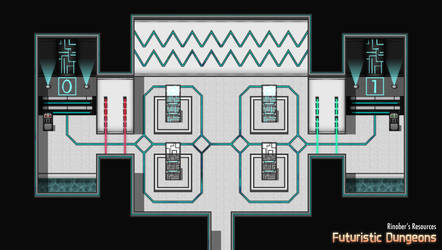 Futuristic Dungeons 4 | Resource Pack | RPGMakerMZ by JasonsFactory