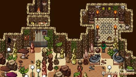 Futuristic Dungeons 5 | Resource Pack | RPGMakerMZ by JasonsFactory