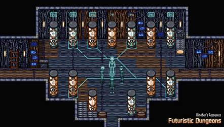 Futuristic Dungeons 6 | Resource Pack | RPGMakerMZ by JasonsFactory