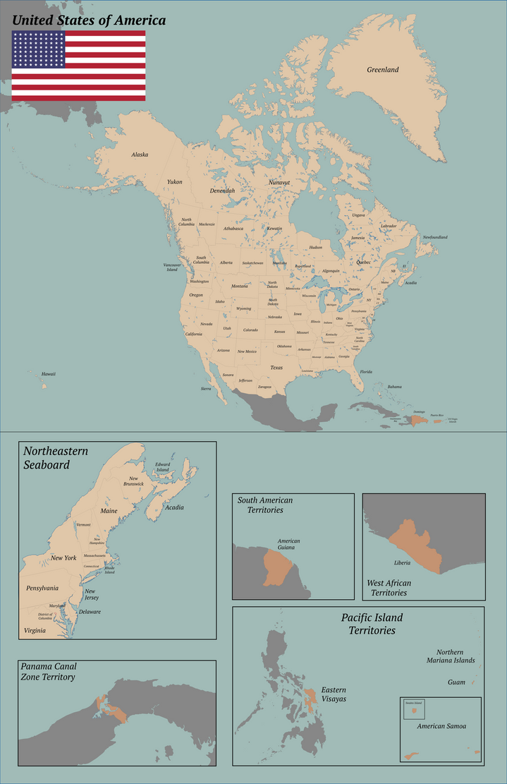 An Alternate America by alexleclerc