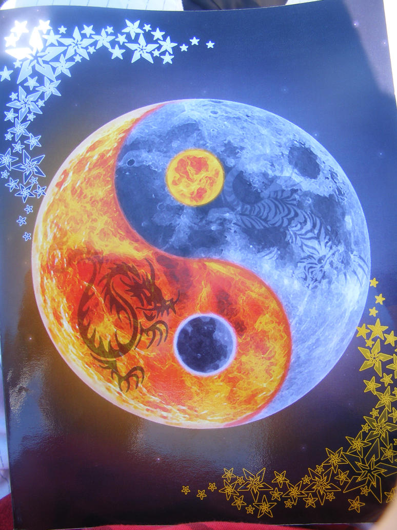 Sun moon yin yang by cameronpeter on deviantart for Fire and ice tattoo shop