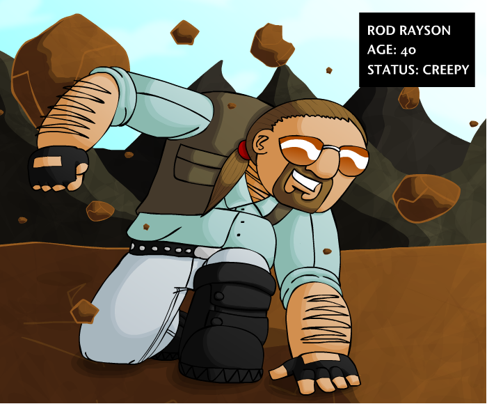 SPC: Meet Rod Rayson by Calicard