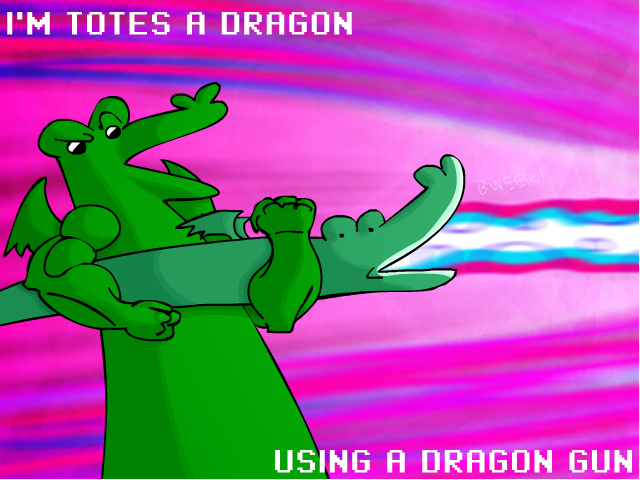 Dragon Gun by Calicard