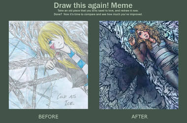 Draw this again! Meme